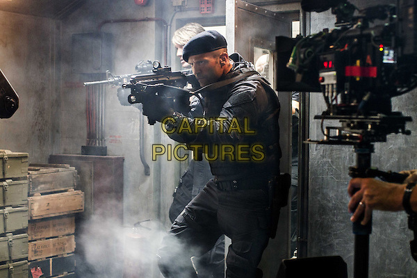 Jason Statham<br /> in The Expendables 3 (2014) <br /> *Filmstill - Editorial Use Only*<br /> CAP/NFS<br /> Image supplied by Capital Pictures