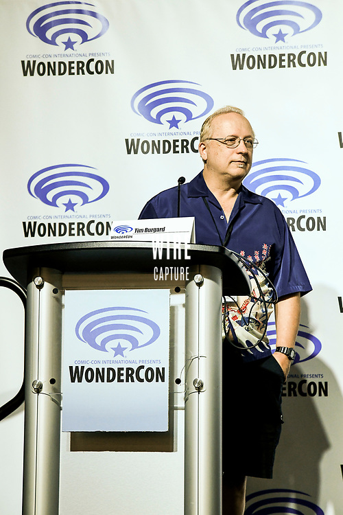 Tim Burgard at Wondercon in Anaheim Ca. March 31, 2019