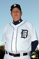 Feb 21, 2009; Lakeland, FL, USA; The Detroit Tigers coach Gene Lamont (22) during photoday at Tigertown. Mandatory Credit: Tomasso De Rosa/ Four Seam Images
