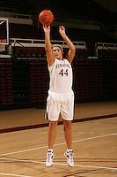 STANFORD, CA - SEPTEMBER 28:  Joslyn Tinkle during picture day on September 28, 2009 at Maples Pavilion in Stanford, California.