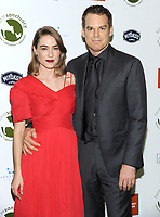 NEW YORK, NY - OCTOBER 04: Morgan Macgregor and actor Michael C. Hall  attends the 2018 Farm Sanctuary on the Hudson gala at Pier 60 on October 4, 2018 in New York City.     <br /> CAP/MPI/JP<br /> &copy;JP/MPI/Capital Pictures