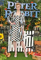Elizabeth Debicki at the &quot;Peter Rabbit&quot; UK gala premiere, Vue West End cinema, Leicester Square, London, England, UK, on Sunday 11 March 2018.<br /> CAP/CAN<br /> &copy;CAN/Capital Pictures
