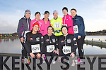 Front from left: Carol Anne O'Donoghue, Grainne Power and Deirdre Power <br /> Back from left: Dr Kathleen Murphy, Olivia O'Shea, Denise Shanahan, Mary Bowler, Laraine O'Donnell  and Marian Bowler at the Valentines 10 mile road race in Tralee on Saturday.