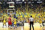 19.06.2019, Mercedes Benz Arena, Berlin, GER, 1.BBL, ALBA ERLIN vs.  FC Bayern Muenchen, <br /> im Bild ALBA-Fans<br /> <br />      <br /> Foto © nordphoto / Engler