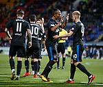 Bruno Alves and Ross McCrorie celebrate