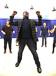 """Norm Lewis during """"The Music Man"""" Media Day Rehearsal at the New 42nd Street Studios on January 24, 2019 in New York City."""