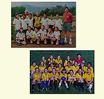 Coaching daughter's soccer team over the years, Boulder. We learned together.