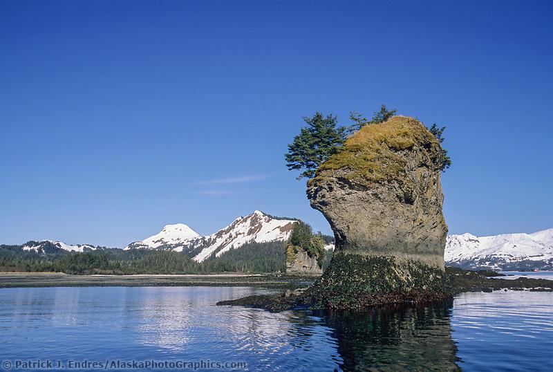 Sea Stacks, Hinchenbrook Island, Prince William Sound