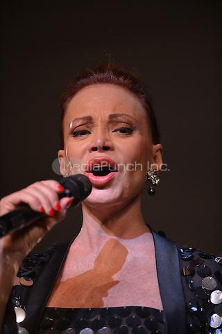 MIAMI, FL - JUNE 01: Paloma San Basilio Performs at James L. Knight Center on June 1, 2013 in Miami, Florida. © MPI10/MediaPunch Inc