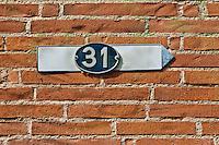 Europe/France/Midi-Pyrénées/31/Haute-Garonne/Toulouse: 31 Rue Valade - Plaque de rue