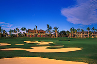 Hualalai Resort, No. 18, Big Island, Hawaii.  Architect: Jack Nicklaus