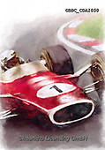 Barry, MASCULIN, MÄNNLICH, MASCULINO, paintings+++++,GBBCCDA1050,#m#, EVERYDAY ,car,race,motosport,
