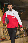 12.03.2018, Weser Stadion, Bremen, GER, 1.FBL, Werder Bremen vs 1.FC Koeln, im Bild<br /> <br /> Ankunft Claudio Pizarro (Koeln #39)<br /> <br /> Foto &copy; nordphoto / Kokenge