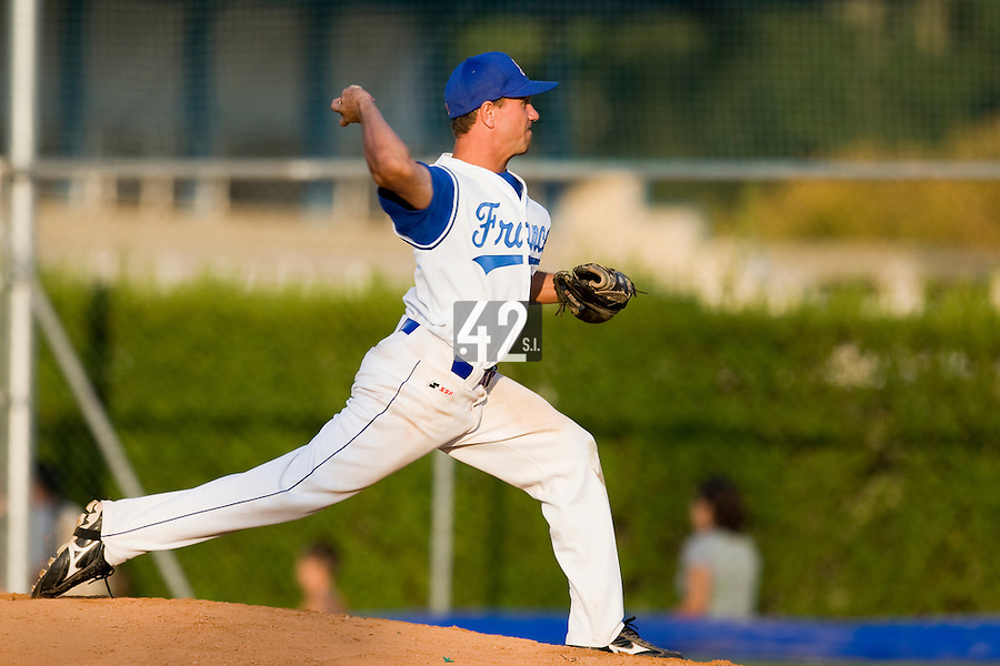 BASEBALL - EUROPEAN UNDER -21 CHAMPIONSHIP - PAMPELUNE (ESP) - 03 TO 07/09/2008 - PHOTO : CHRISTOPHE ELISE .PHILIPPE LECOURIEUX (FRANCE)