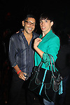 Christopher Belt (handbag designer) poses with Will Grega as he celebrates his marriage (this morning September 13, 2013) with a celebration at the 13th Annual Kings & Cowboys at DL in New York City, New York. Randy is also celebrating his birthday. Also there were Randy's mom Elaine and Will's mom Marge. Actor Keith Collins was there. (Photo by Sue Coflin/Max Photos)