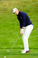 Jordan Spieth (Team USA) on the 8th during the friday fourballs at the Ryder Cup, Le Golf National, Iles-de-France, France. 27/09/2018.<br /> Picture Fran Caffrey / Golffile.ie<br /> <br /> All photo usage must carry mandatory copyright credit (© Golffile | Fran Caffrey)