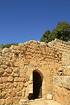 Israel, Jerusalem Mountains, the Crusader Farmhouse in Aqua Bella, Ein Hemed National Park