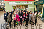 Kerry Footballer David Moran opening Horan's Healthstore, The Square, Tralee on Friday.