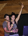 Bryan Craig & Kelly Thiebaud at 15th Southwest Florida Soapfest 2014 Charity Weekend with a Bartending/Karaoke get together on May 26, 2104 at Porky's, Marco Island, Florida. (Photo by Sue Coflin/Max Photos)