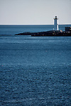 Maine, Lighthouse, South of Portland, Maine, Atlantic Coast, New England, United States,