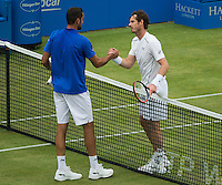 ANDY MURRAY (GBR), MARIN CILIC (CRO)<br /> <br /> TENNIS - AEGON CHAMPIONSHIPS - QUEENS - ATP - ATP500 - CHAMPIONSHIPS-GRASS - LONDON - UNITED KINGDOM - 2016  <br /> <br /> <br /> <br /> &copy; TENNIS PHOTO NETWORK