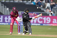 Tom Blundell (New Zealand) plays a scoop shot and collects a boundary during West Indies vs New Zealand, ICC World Cup Warm-Up Match Cricket at the Bristol County Ground on 28th May 2019