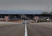 Mar 29, 2014; Las Vegas, NV, USA; Overall view of The Strip at Las Vegas Motor Speedway during NHRA qualifying for the Summitracing.com Nationals. Mandatory Credit: Mark J. Rebilas-USA TODAY Sports