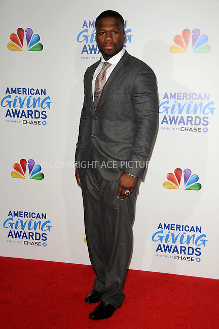 WWW.ACEPIXS.COM . . . . .  ....December 9 2011, LA....50 Cent arriving at the American Giving Awards at Dorothy Chandler Pavilion on December 9, 2011 in Los Angeles, California....Please byline: PETER WEST - ACE PICTURES.... *** ***..Ace Pictures, Inc:  ..Philip Vaughan (212) 243-8787 or (646) 679 0430..e-mail: info@acepixs.com..web: http://www.acepixs.com
