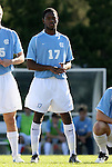 29 November 2009: UNC's Alex Dixon. The University of North Carolina Tar Heels defeated the Indiana University Hoosiers 1-0 at Fetzer Field in Chapel Hill, North Carolina in an NCAA Division I Men's Soccer Tournament Third Round game.