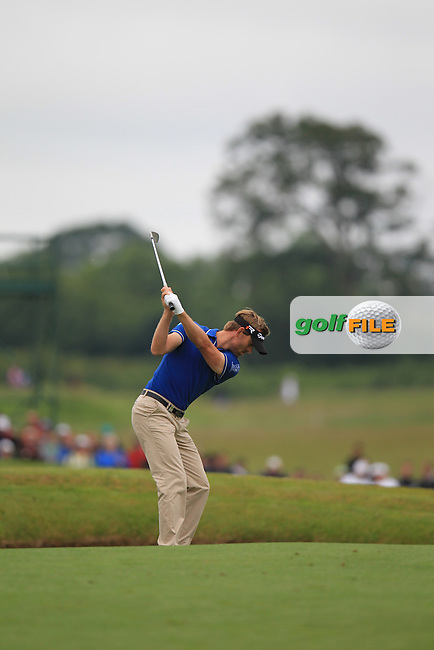 Raphael Jacquelin (FRA) during round 3 at the Irish Open, Carton House, Maynooth, Co. Kildare, Ireland. 29/6/13<br /> Picture:  Fran Caffrey / www.golffile.ie