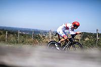 Rui Costa (POR/UAE)<br /> <br /> Stage 13: ITT - Pau to Pau (27.2km)<br /> 106th Tour de France 2019 (2.UWT)<br /> <br /> ©kramon
