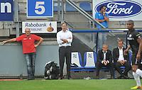 VOETBAL: HEERENVEEN, 18-08-2013, SC Heerenveen - Heracles 2-4, Coach Marco van Basten en beleidingssstaf, ©foto Martin de Jong