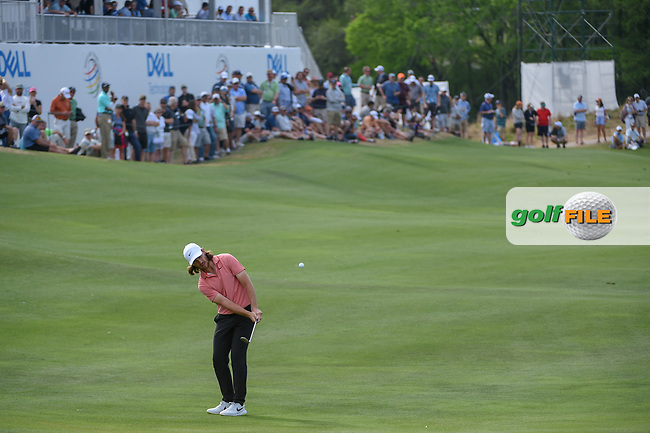 Tommy Fleetwood (ENG) chips on to 13 during day 2 of the WGC Dell Match Play, at the Austin Country Club, Austin, Texas, USA. 3/28/2019.<br /> Picture: Golffile   Ken Murray<br /> <br /> <br /> All photo usage must carry mandatory copyright credit (© Golffile   Ken Murray)