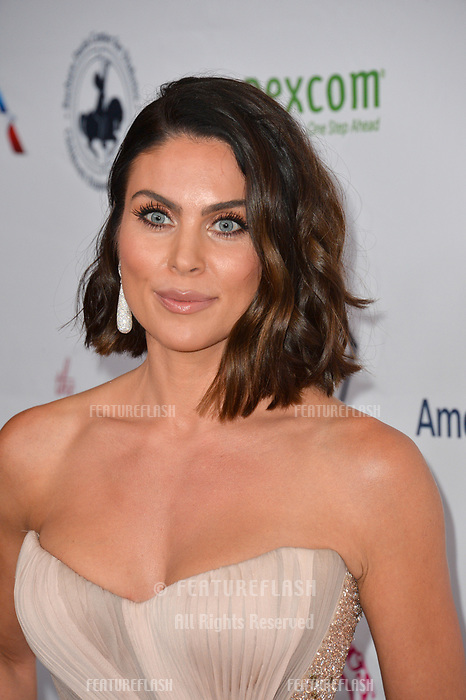 LOS ANGELES, CA. October 06, 2018: Nadia Bjorlin at the 2018 Carousel of Hope Ball at the Beverly Hilton Hotel.<br /> Picture: Paul Smith/Featureflash