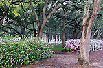 White Point Garden in Charleston, South Carolina, USA