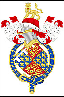 BNPS.co.uk (01202 558833)<br /> Pic MichaelJones/BNPS<br /> <br /> The Black Prince's herlaldic crest. <br /> <br /> The 637 year stain on the reputation of one of Britains medieval heroes has finally been removed after an authors meticulous research has proved the 'Massacre of Limoges' was actually committed by vengeful French soldiers against their own countrymen.<br /> <br /> Edward of Woodstock's reputation has been tarnished by the account of a French chronicler who claimed he ordered the massacre of 3,000 innocent people in the French town of Limoges during the Hundred Years War between England and France. <br /> <br /> The Prince, eldest son and heir of Edward III, has been known as The Black Prince since the 16th century because of the massacre and is still vilified in some quarters in France to this day.<br /> <br /> However, remarkable new evidence has emerged which suggests Edward, who was the ruler of Aquitaine in south-western France, did not order the massacre during the sack of Limoges on September 19, 1370.<br /> <br /> In fact, it was the French forces who butchered 300 of their countrymen as a reprisal, because they opened the gates of Limoges to the rampaging English.