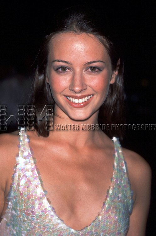 Amy Acker.(Angel).WB Network Upfront Party at Chelsea Piers Lighthouse, NYC.5152001