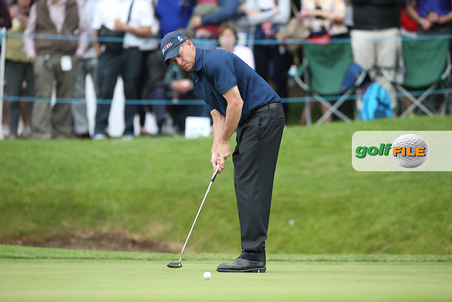 Anders Hansen (DEN) during Round Three of the 2015 BMW PGA Championship over the West Course at Wentworth, Virginia Water, London. 23/05/2015. Picture David Lloyd | www.golffile.ie.