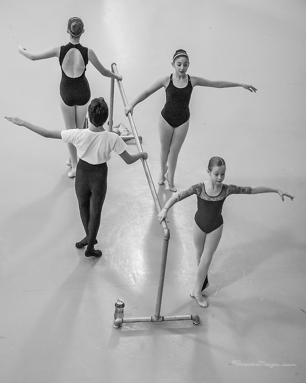 Class with Visiting Choreographer Francisco Gella, Cary Ballet Conservatory, 15 Oct 2016