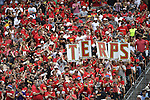30 MAY 2016: Maryland fans are seen during the Division 1 Men's Lacrosse Championship between the University of Maryland and the University of North Carolina at Lincoln Financial Field in Philadelphia, PA. Larry French/NCAA Photos