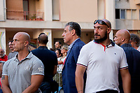 Judge Nino Di Matteo - Antimafia Magistrate of Palermo &amp; now member of the DNA (Anti-mafia &amp; Anti-terrorism National Directorate) - See also my story in London, 'The Empty Seat: &quot;A Very Sicilian Justice&quot; Screening without Judge Di Matteo' - here http://bit.ly/2uxm23R ).<br />