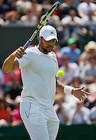 England, London, 27.06.2014. Tennis, Wimbledon, AELTC, Jo-Wilfried Tsonga (FRA)<br /> Photo: Tennisimages/Henk Koster