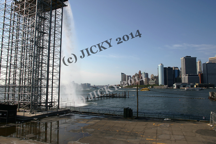 The Waterfalls at Governors Island