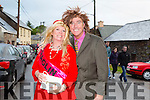 Catriona Johnston and Frank Houlihan at the Cloghane/Brandon annual Féile Lúghnasa Fancy Dress Parade on Sunday