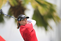 Katherine Kirk (AUS) in action on the 12th during Round 1 of the HSBC Womens Champions 2018 at Sentosa Golf Club on the Thursday 1st March 2018.<br /> Picture:  Thos Caffrey / www.golffile.ie<br /> <br /> All photo usage must carry mandatory copyright credit (&copy; Golffile | Thos Caffrey)