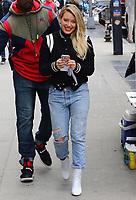 WWW.ACEPIXS.COM<br /> <br /> April 5, 2017 New York City<br /> <br /> Actress Hilary Duff was on the set of the TV show 'Younger' on April 5 2017 in New York City.<br /> <br /> <br /> Please byline: Zelig Shaul/ACE Pictures<br /> <br /> ACE Pictures, Inc.<br /> www.acepixs.com<br /> Tel: 1 646 769 0430<br /> Email: info@acepixs.com