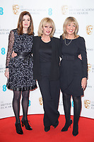 Amanda Barry, Joanna Lumley &amp; Jane Lush at the photocall for EE British Academy Film Awards Nominations Announcement, London, UK. <br /> 09 January  2018<br /> Picture: Steve Vas/Featureflash/SilverHub 0208 004 5359 sales@silverhubmedia.com