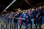 Spectators at the Kerry and Dublin at Austin Stack Park in Tralee, Kerry on Saturday night.