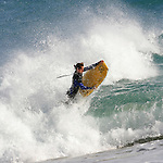 Cornish Beach break chaos