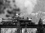 Train steam engine Georgetown loop railroad goes over bridge Georgetown Colorado, train, steam engine, engine, 1872 Colorado Central Railroad, transport millions of dollars of ore coming out of region, Clear Creek Canyon, Black Hawk,  gold mining era, silver, miners, Argentine Mining district, Georgetown Colorado, Train, Steam Engine, Fine Art Photography by Ron Bennett, Fine Art, Fine Art photography, Art Photography, Copyright RonBennettPhotography.com ©